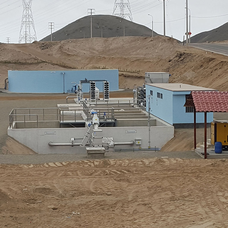 Treatment of Industrial and Mining Wastewater