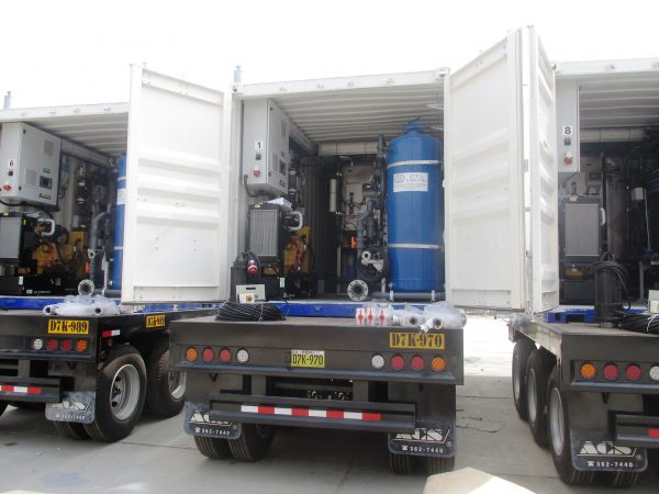 Mobile Treatment Plants of Potable Water for the Ministry of Housing, Construction and Sanitation
